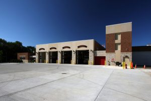 Greendale-Fire-Station_Exterior-Apparatus-Bays_Local_Government_ZAStudios