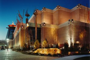 Potawatomi-Casino_Exterior-Night-2_Entertainment_Sports-Entertainment_ZAStudios