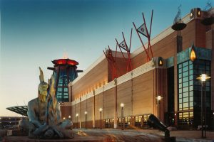 Potawatomi-Casino_Exterior-Night_Entertainment_Sports-Entertainment_ZAStudios