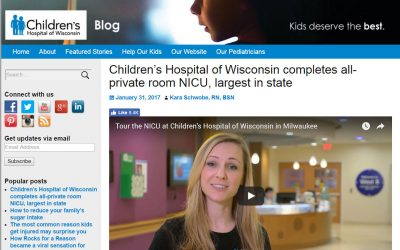Children's Hospital of Wisconsin completes all-private room NICU, largest in state
