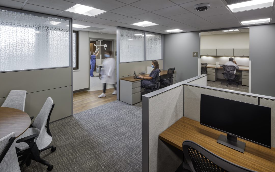 Collaborative Work Spaces in Healthcare